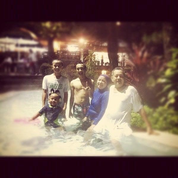 Photo taken at Pemandian Air Panas - Hotel Duta Wisata Guci by Adrian T. on 12/9/2012