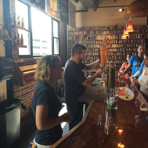 Photo taken at Harpoon Tap Room by Brian A. on 8/3/2015