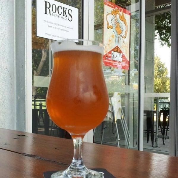 Photo taken at Rocks Brewing Co by Lee W. on 2/22/2014
