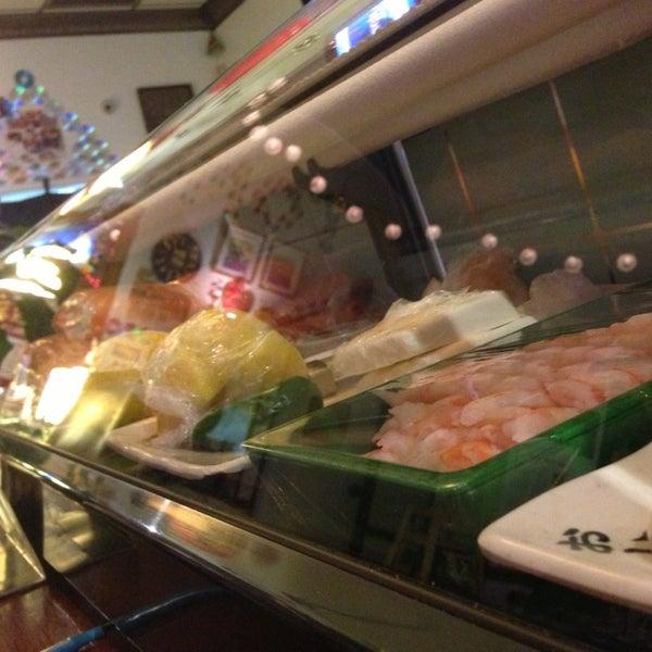Photo taken at Sushi Tomo by Ken K. on 8/6/2013