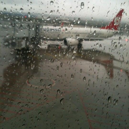 Photo taken at Istanbul Sabiha Gökçen International Airport (SAW) by Efe B. on 12/7/2012