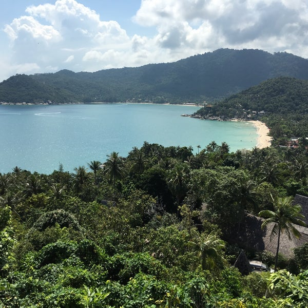Photo taken at Santhiya Resort And Spa Koh Phangan by Kirill D. on 1/5/2016
