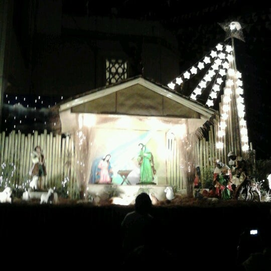 Photo taken at National Shrine of Our Lady of Peace and Good Voyage (Antipolo Cathedral) by Issan C. on 12/15/2012