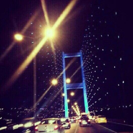 Photo taken at Fatih Sultan Mehmet Bridge by Gülşah B. on 7/16/2013