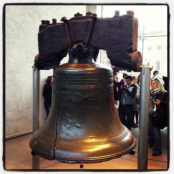 Photo taken at Liberty Bell Center by Gustavo M. on 11/22/2012
