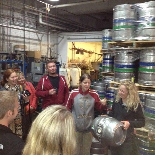 Photo prise au Lakefront Brewery par Steve P. le10/13/2012
