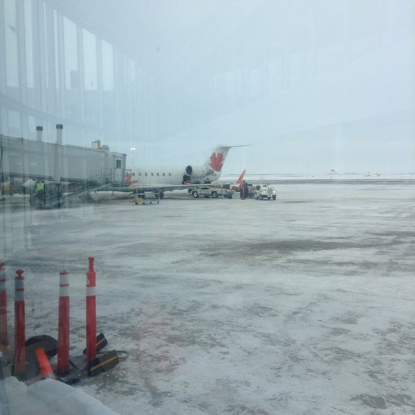 Photo taken at Saskatoon John G. Diefenbaker International Airport (YXE) by Todd T. on 2/9/2013