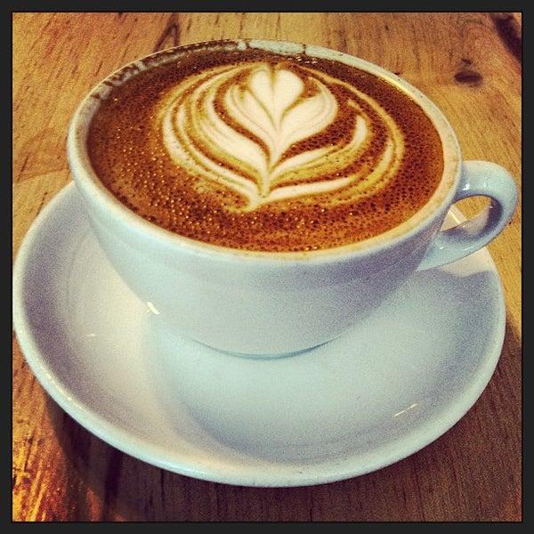 Photo taken at Bodhi Coffee by Tarang G. on 2/17/2013