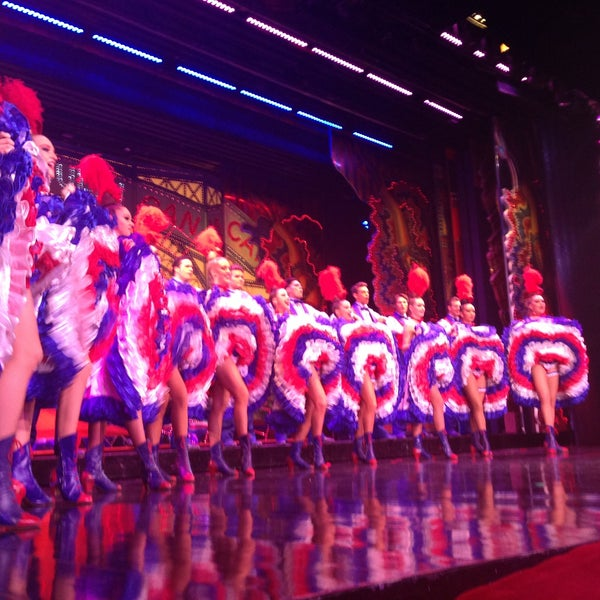 Photo taken at Moulin Rouge by Nastya S. on 5/17/2013