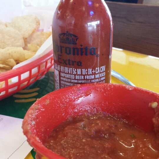 Photo taken at Fuzzy's Taco Shop by Minerva M. on 3/16/2014
