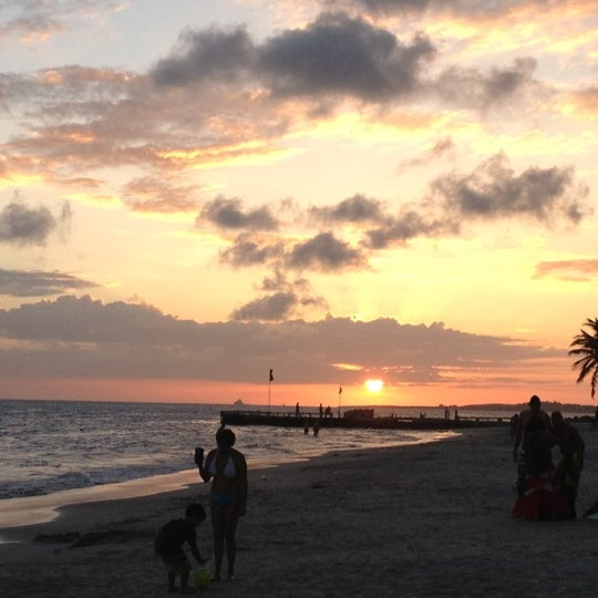 Photo taken at Playa El Yaque by Francis D. on 12/21/2012