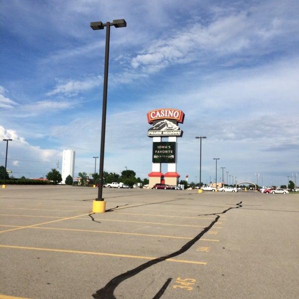 Photo taken at Prairie Meadows by Alan D. on 5/27/2014
