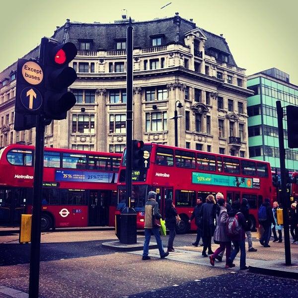 Photo taken at Oxford Street by Halil İbrahim M. on 2/5/2013