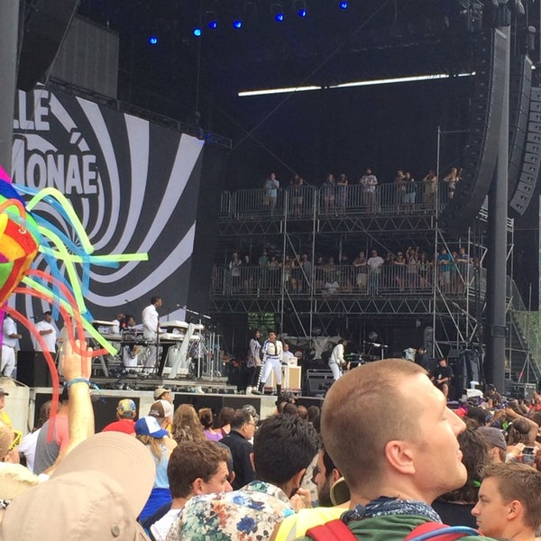 Photo taken at What Stage at Bonnaroo Music & Arts Festival by Mike M. on 6/13/2014