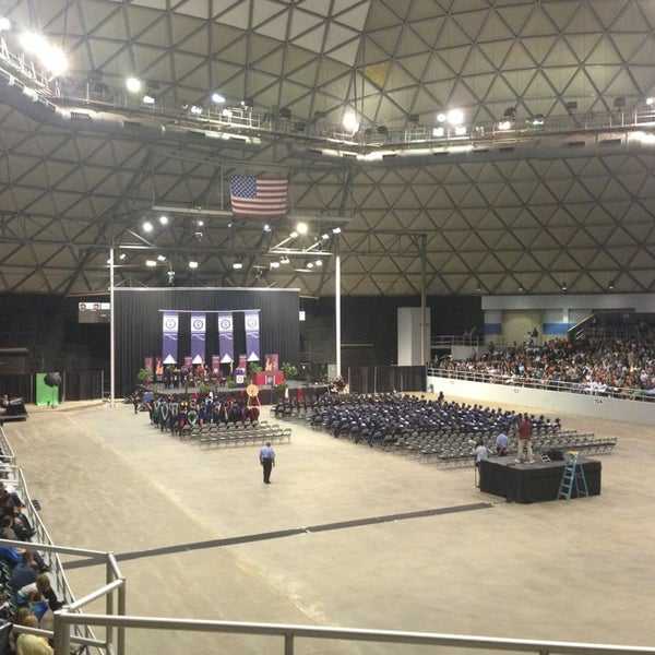 Photo taken at Bell County Expo Center by Amanda B. on 5/11/2013