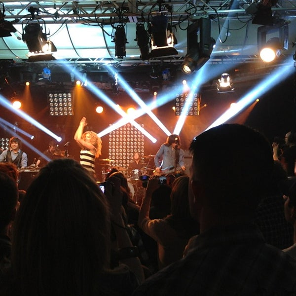Photo taken at iHeartRadio Theater by Marisa W. on 4/3/2013