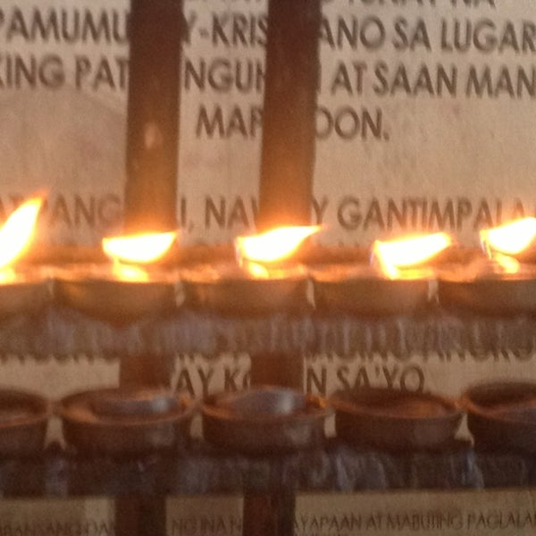 Photo taken at National Shrine of Our Lady of Peace and Good Voyage (Antipolo Cathedral) by Dave S. on 2/1/2013
