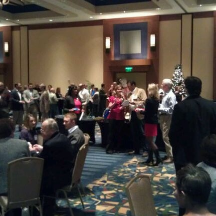 Photo taken at Georgia Tech Hotel and Conference Center by Christopher W. on 12/15/2011