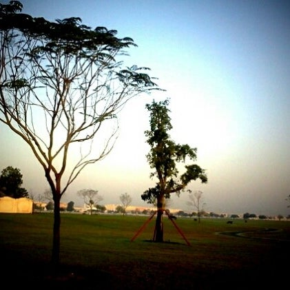 Photo taken at Aspire Park by mohammed l. on 1/18/2012