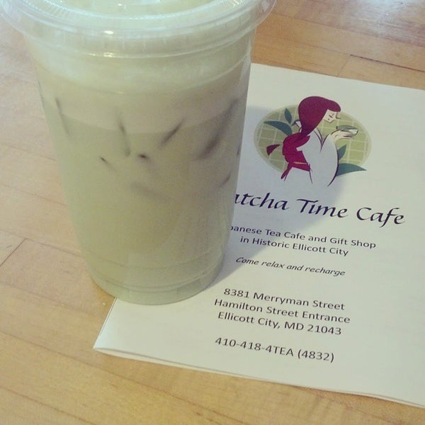 Photo taken at Matcha Time Cafe by Hiro on 8/18/2013