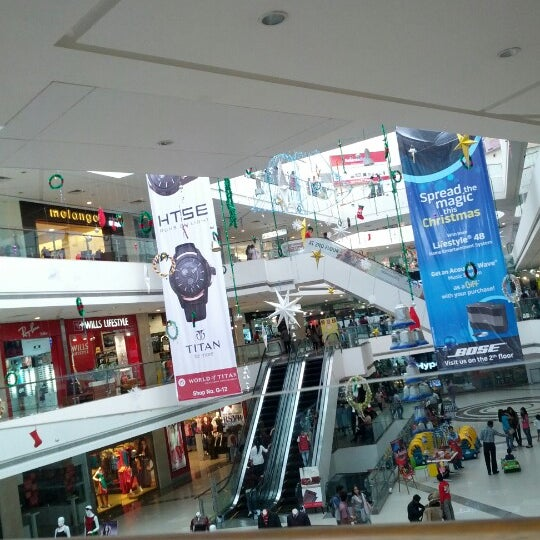 Photo taken at Kumar Pacific Mall by Deepika T. on 12/23/2012
