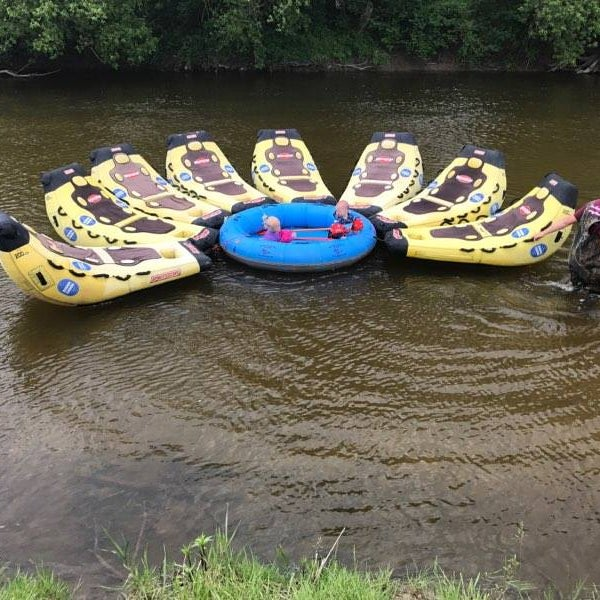 Photo taken at Russell Canoe Livery and Campgrounds by Russell Canoe Livery and Campgrounds on 6/5/2017