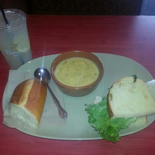 Photo taken at Panera Bread by Rhonda M. on 4/1/2013