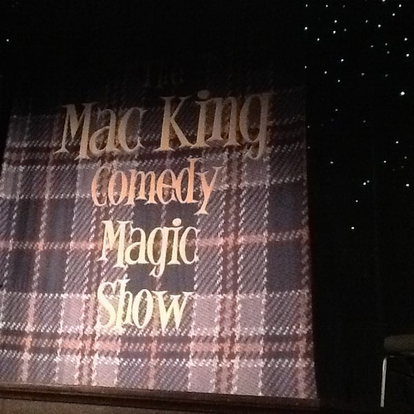Photo taken at The Mac King Comedy Magic Show by Wendy C. on 9/7/2013