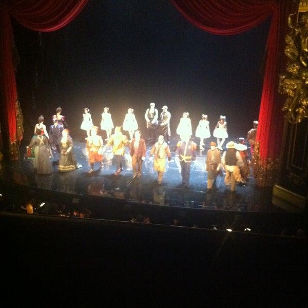 Foto tirada no(a) Majestic Theatre por Deniz D. em 4/25/2013