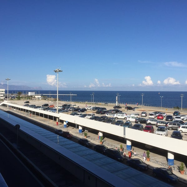 Photo taken at Palermo Airport (PMO) by Franzi V. on 9/27/2015