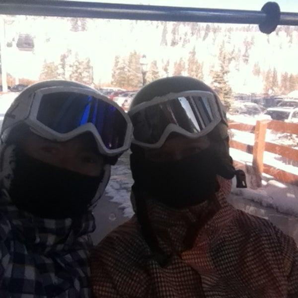 Photo taken at Breck Connect Gondola by Marcela L. on 3/5/2013