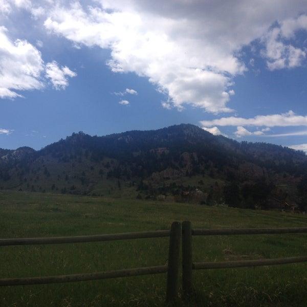 Photo taken at Colorado Chautauqua National Historic Landmark by Lauren B. on 5/2/2014