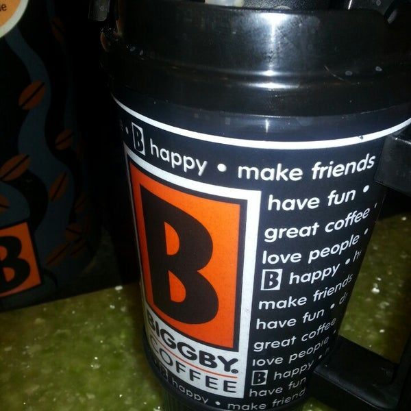Photo taken at BIGGBY COFFEE by Heather H. on 7/30/2013