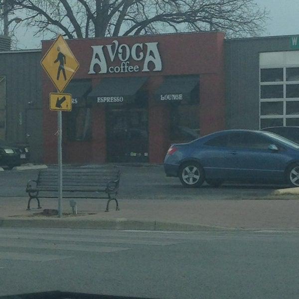 Photo taken at Avoca Coffee by Kittie P. on 3/1/2013