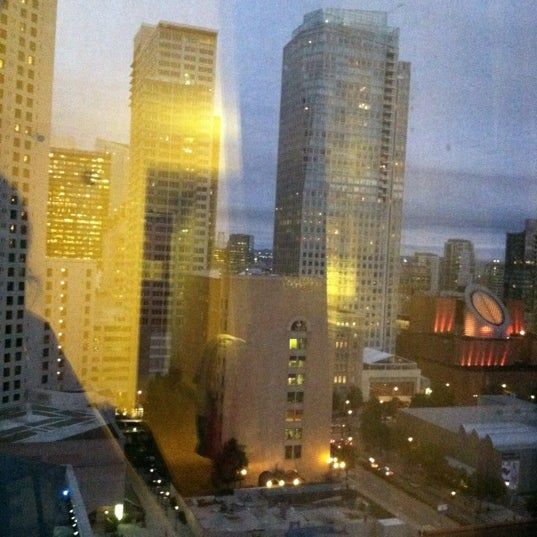 Photo taken at San Francisco Marriott Marquis by Aimee S. on 12/5/2012