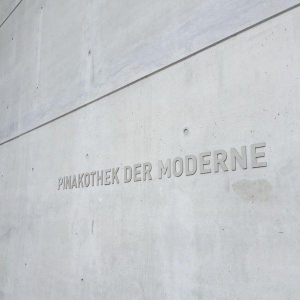 Photo taken at Pinakothek der Moderne by Lena C. on 6/19/2016