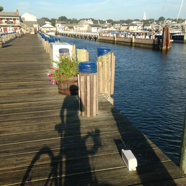 Photo taken at Nantucket Boat Basin by Mai N. on 8/10/2013