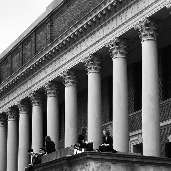 Photo taken at Widener Library by W.C. C. on 4/24/2017