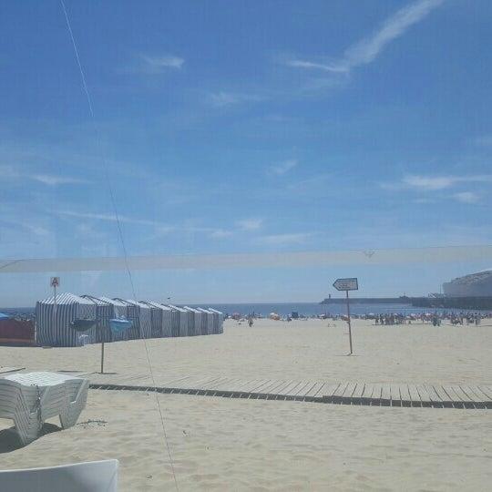 Photo taken at Praia do Titan by Miguel on 6/19/2016