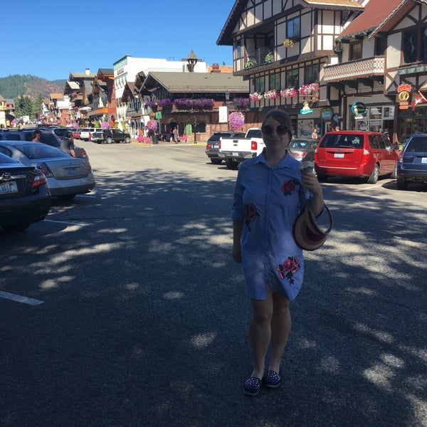Photo taken at Town of Leavenworth by Vova Y. on 7/28/2017