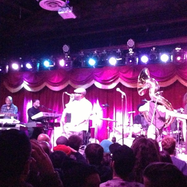 Photo taken at Brooklyn Bowl by Kristin B. on 12/21/2012