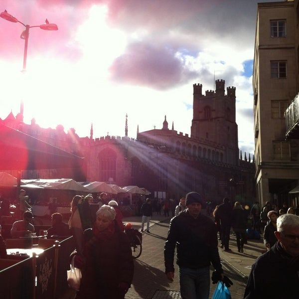 Photo taken at Cambridge Market by Arthur R. on 2/2/2013