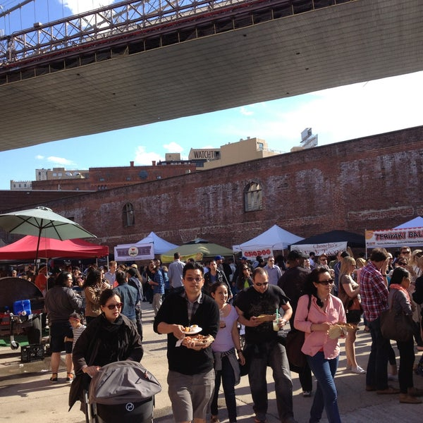 Photo taken at Smorgasburg by Danny L. on 5/26/2013