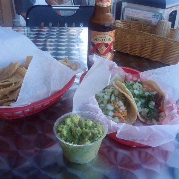 Photo taken at Tia Cori's Tacos by David P. on 7/17/2013