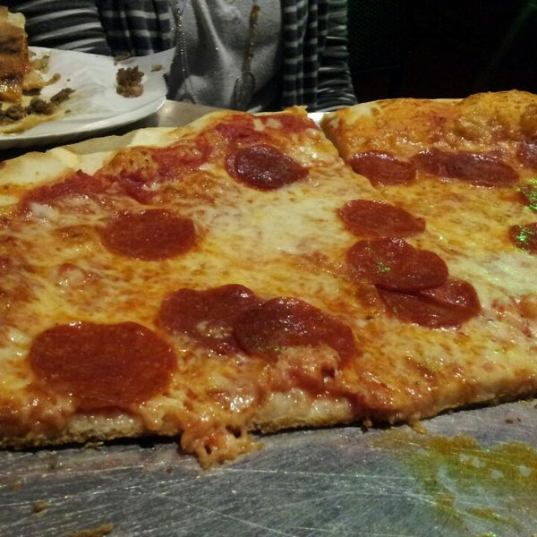 Photo taken at Toby's Original Little Italy Pizza by Adam S. on 4/20/2013