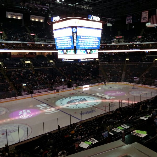 Photo taken at Nationwide Arena by Woody on 2/27/2013