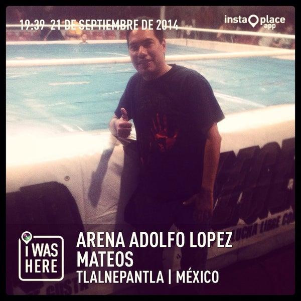 Photo taken at Arena Adolfo Lopez Mateos by SCORPION 🦂 on 9/22/2014