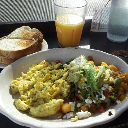Photo taken at Eggs In the City by Sarah C. on 12/28/2012