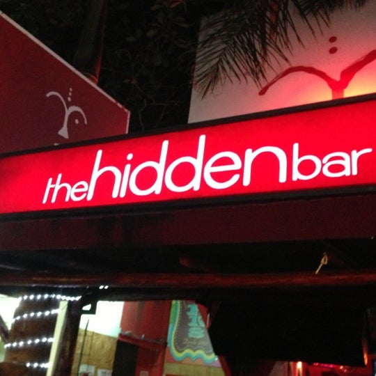 Photo taken at The Hidden Bar by Gustavo T. on 12/15/2012