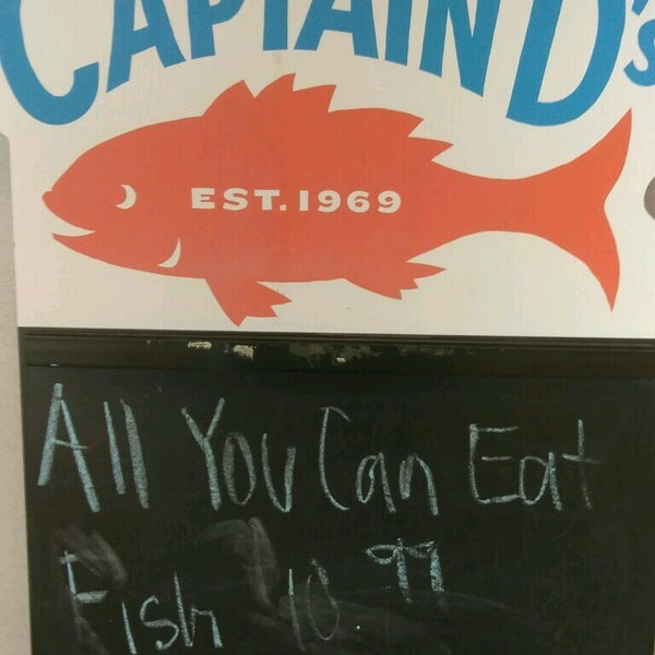 Captain D 39 S Seafood Southwest Dallas 419 E Camp Wisdom Rd